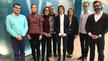 v.l.n.r.: Clemens Krämer (Roche), Corinna Meeßen (Forschungszentrum Jülich), Dr. Ljuba Woppowa (VDI), Dr. Andreas Herrmann (VDI), Melanie Zimmermann (Ovesco), Fabienne Valambras (Informa), Michael Spiekerkötter (VDI), Dennis Brußies (Ingenieurbüro Br