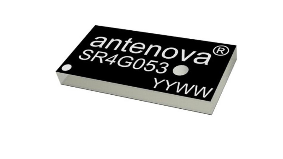 Einkanal-GPS-Antenne im SMD-Format für GPS-Signale im L2-Band