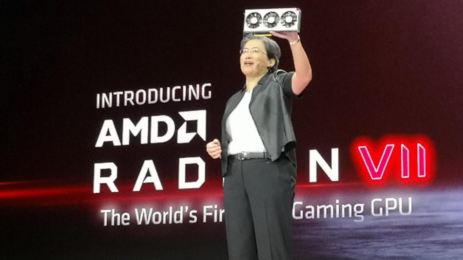 Bei dem AMD Radeon VII handelt es sich um den weltweit ersten 7-nm-Gaming-Grafikprozessor.