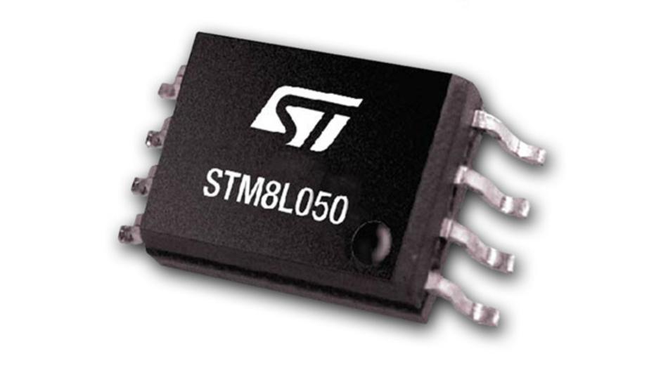 8-bit-Mikrocontroller STM8L050 mit erweitertem Funktionsumfang