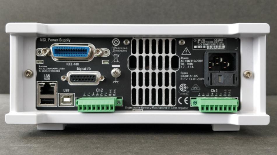 Bild 5: NGL200 zeigt viele Kommunikationsschnittstellen zur Rückwand