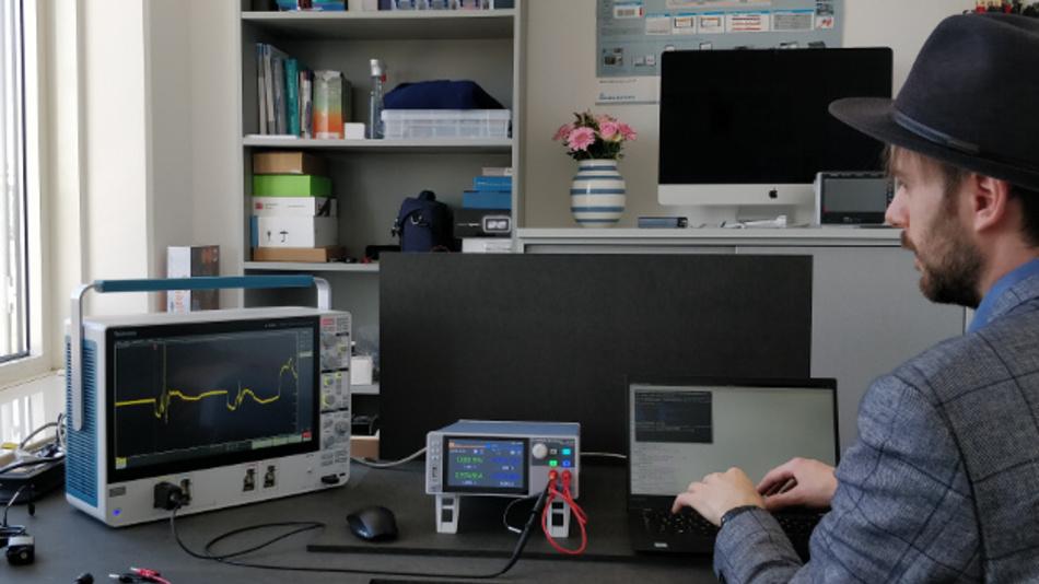 Schrecksekunden in der Testautomatisierung: NGL200 ist quellseitig schnell genug, um auf Relaispreller der ferngesteuerten Last zu reagieren.