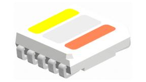 Schematische Darstellung der Multicolor-LED von Eurolighting.
