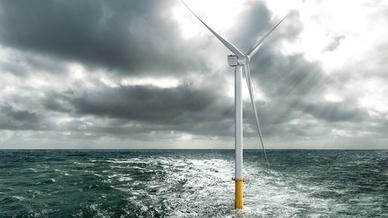 Offshore-Turbine mit 10 MW Nennleistung