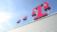 Telekom Logo auf dem Dach (Symbolbild)