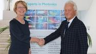 Dr. Katrin Kobe und Armin Luft, Laser 2000