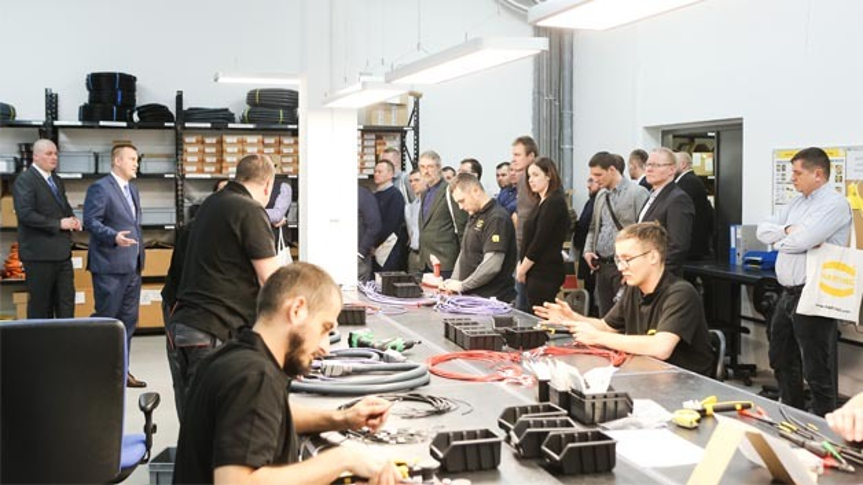 Die in der Produktionsstätte gefertigten Produkte und Lösungen sind vorrangig für den Maschinen- und Anlagenbau bestimmt.