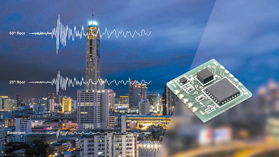 Bild 2. Omrons D7S ist mit 9,8 mm × 10,9 mm der derzeit kleinste seismische Sensor.