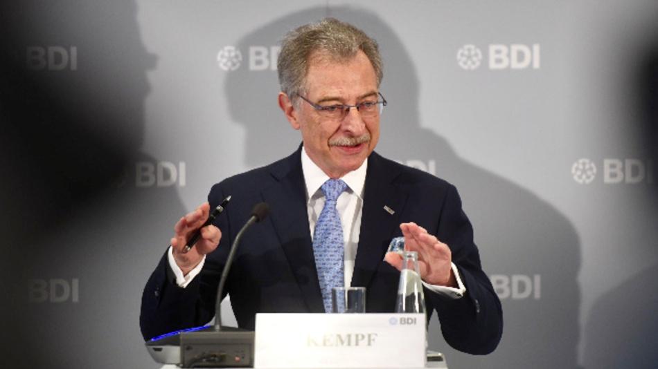 BDI-Präsident Prof. Dieter Kempf: »So oder so wächst die Wirtschaftsleistung das zehnte Jahr in Folge.«