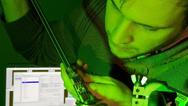 Prüfung eines Siliziumkarbid-Transistors