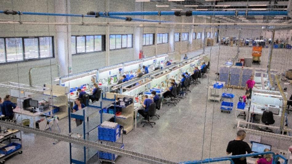 Das neue ODU-Werk in Sibiu.