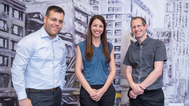 Die Gründer von Hailo (v.l.n.r.): Orr Danon (CEO), Hadar Zeitlin (Chief Business Development Officer), Avi Baum (CTO).