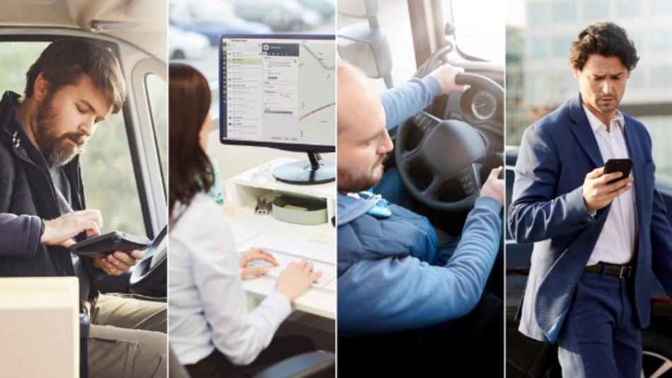 Die Plattform von TomTom Telematics ermöglicht es Kunden wie Nutzfahrzeugflotten, Leasinggesellschaften oder Firmenflotten, ihre Abläufe effizienter zu gestalten.