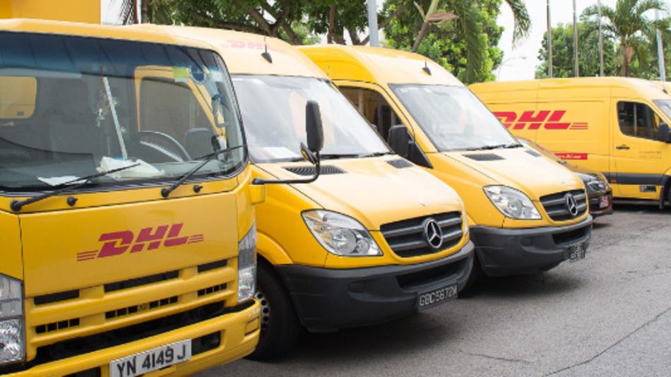 Die Nutzfahrzeugflotte von DHL Express wird von Faurecia mit zusätzlichen Sensoren ausgestattet, um NOx und Feinstaub in Echtzeit zu überwachen.
