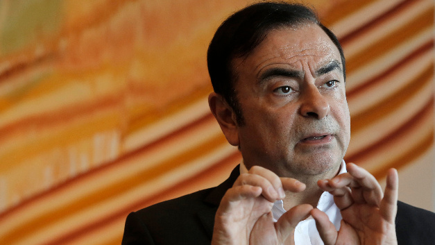 Carlos Ghosn bei einem Interview.
