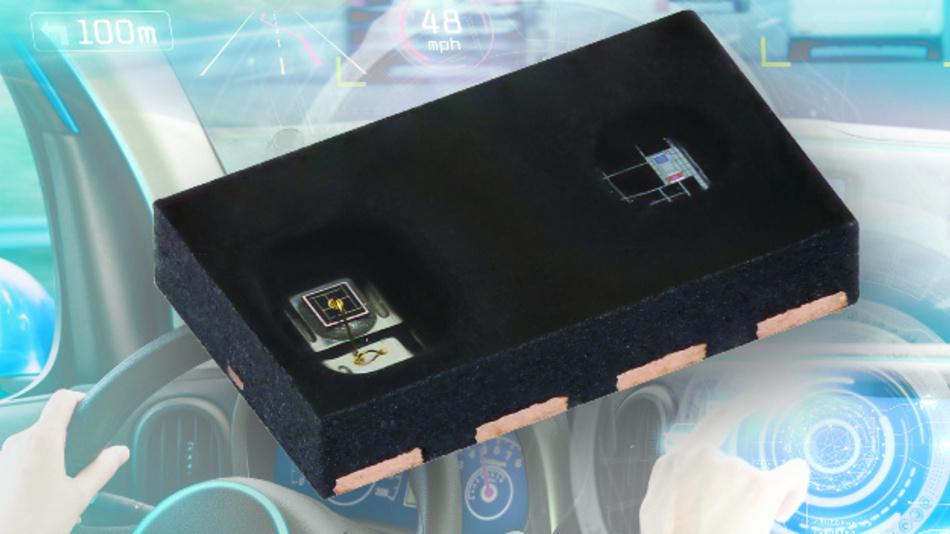 Umgebungs- und Näherungssensor VCNL4030X01 von Vishay Semiconductors.