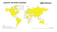 Aktuell sind über 100 LoRa-Netze in mehr als 100 Ländern in Betrieb.