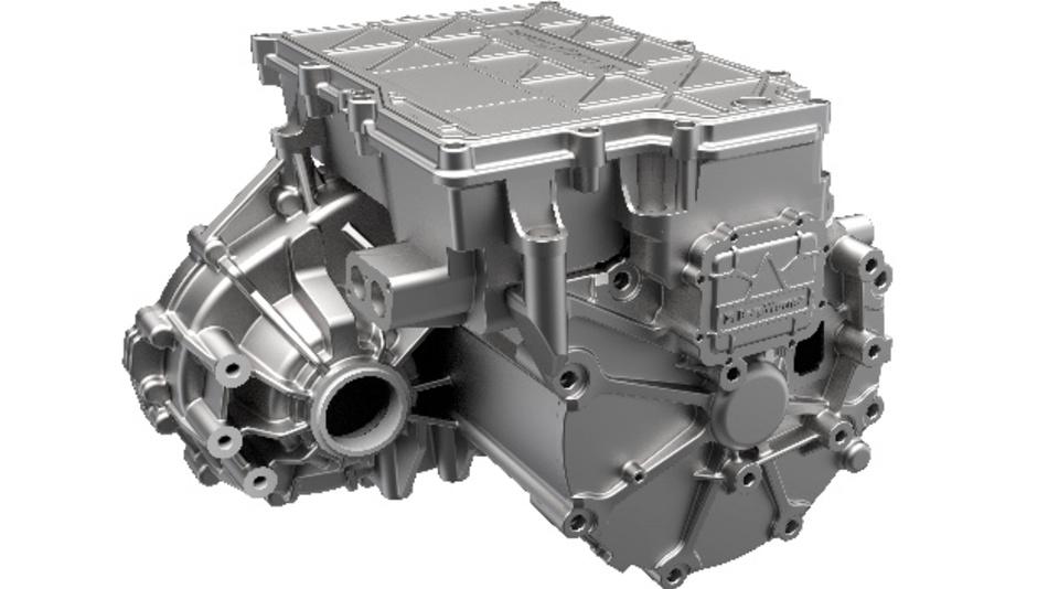 »iDM« verbindet integrierte Leistungselektronik, Getriebetechnik und Elektromotor zu einem kompakten Antrieb.