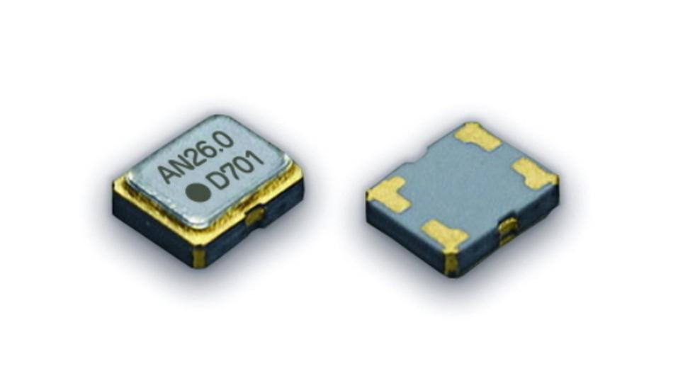 Die Oszillatoren erreichen eine stabile Ausgangsfrequenz mit Abweichungen von minimal ±0,5 ppm und zeichnen sich durch einen weiten Eingangsspannungsbereich von 1,68 bis 3,5 V aus.