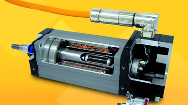 Exlar-Aktuator der Baureihe GTX