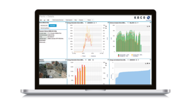 Unter dem Namen »blueplanet web« betreibt die KACO new energy GmbH ein Internetportal zur Fernüberwachung von Photovoltaik-Anlagen.