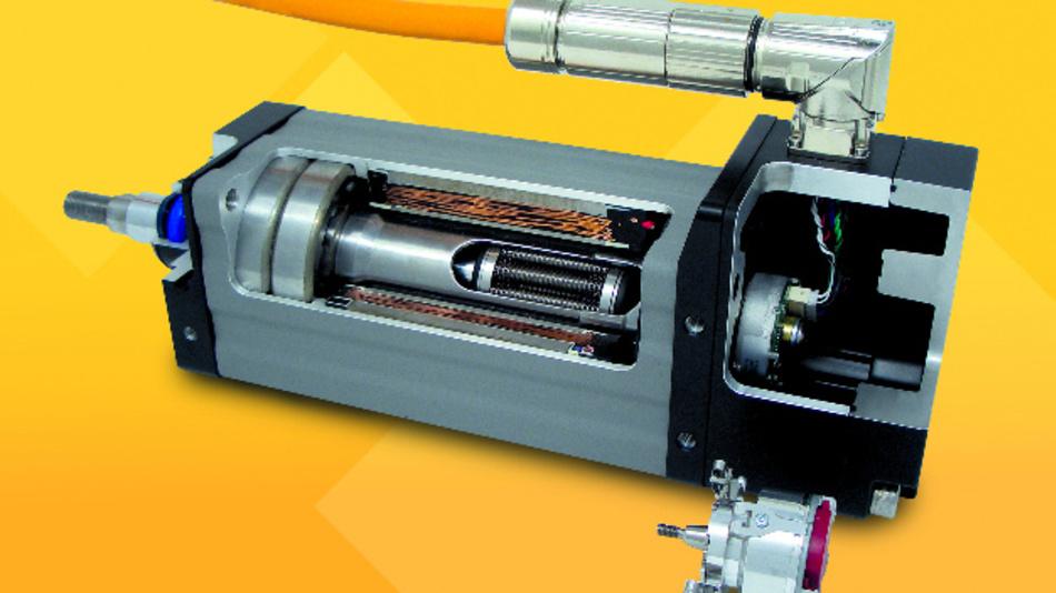 Die Exlar-Aktuatoren der Baureihe GTX sind Industrie 4.0-tauglich.