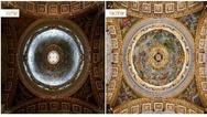 Detailreich und kontraststark erscheinen die Kunstwerke nun im neuen Beleuchtungskonzept