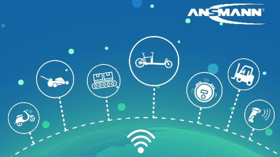 Das »Connected Mobile Power Pack« von Ansmann eignet sich für Hersteller, die ihre Elektrofahrzeuge und andere akkubetriebene Geräte vernetzen möchten.