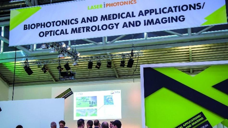 Ein halbes Jahr vor der diesjährigen Messe haben sich bereits mehr als 130 internationale Aussteller aus allen Bereichen der Biophotonik angekündigt.