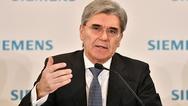 Joe Kaeser im Januar 2019 bei der Präsentation der Quartalszahlen von Siemens