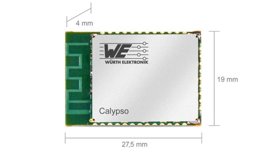 WLAN-Funkmodul Calypso für Embedded-Systeme in industriellen Anwendungen