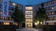 Aussenansicht Firmensitz dSPACE in Paderborn.