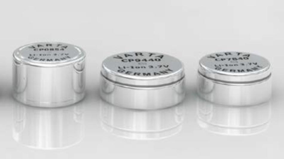 Die neuen Zellen der CoinPower-Serie von Varta Microbattery.