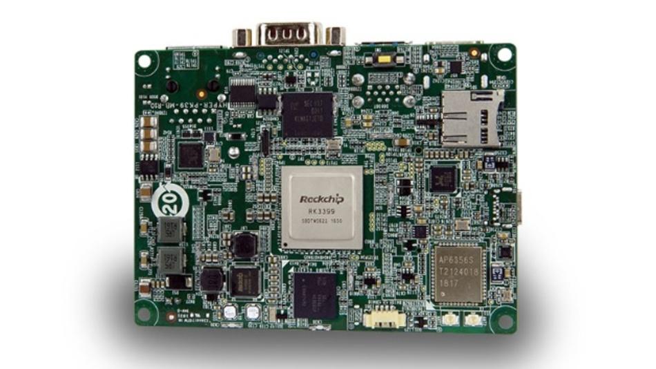 Hyper-RK39 nutzt Rockchips 3399 als Prozessor und Pico-ITX als Board-Format.