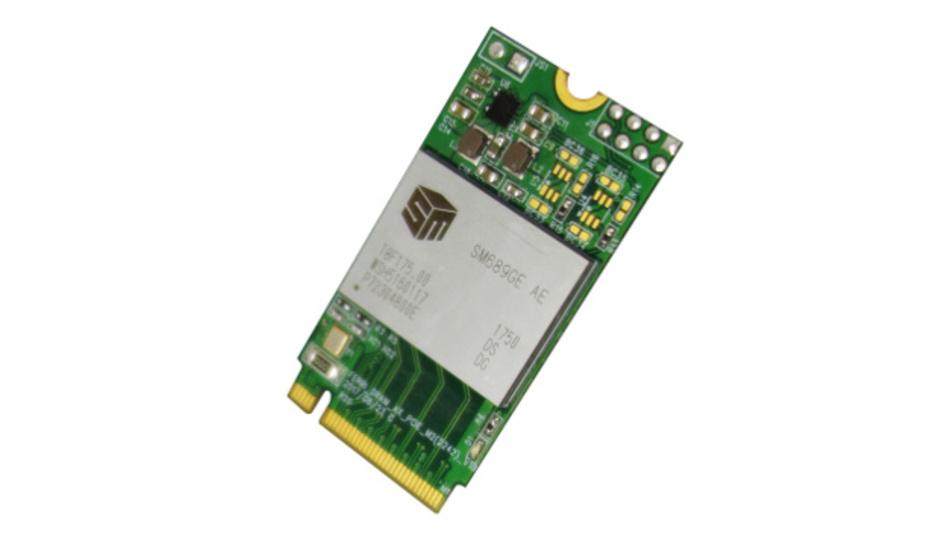 Bild 1: Single Chip SSD auf einem m.2-Board