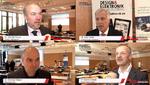 Vier Koryphäen im Video-Interview