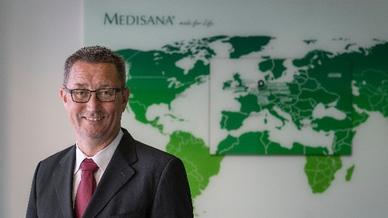 Marco Getz ist neuer Vorsitzender der Geschäftsführung bei Medisana.