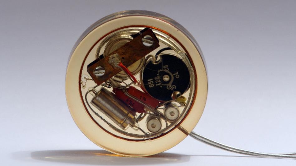 Herzschrittmacher von 1958.