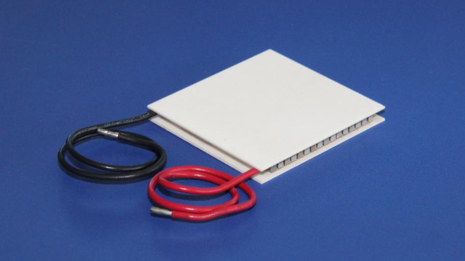 Die fehlertoleranten Peltiermodule von AMS Technologies erreichen Temperaturdifferenzen bis 210 K.
