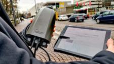 Digitalstadt Darmstadt Straßenlaternen sammeln Daten
