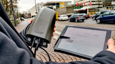 Intelligente Straßenlaternen sollen Verkehrsfluss in Darmstadt optimieren