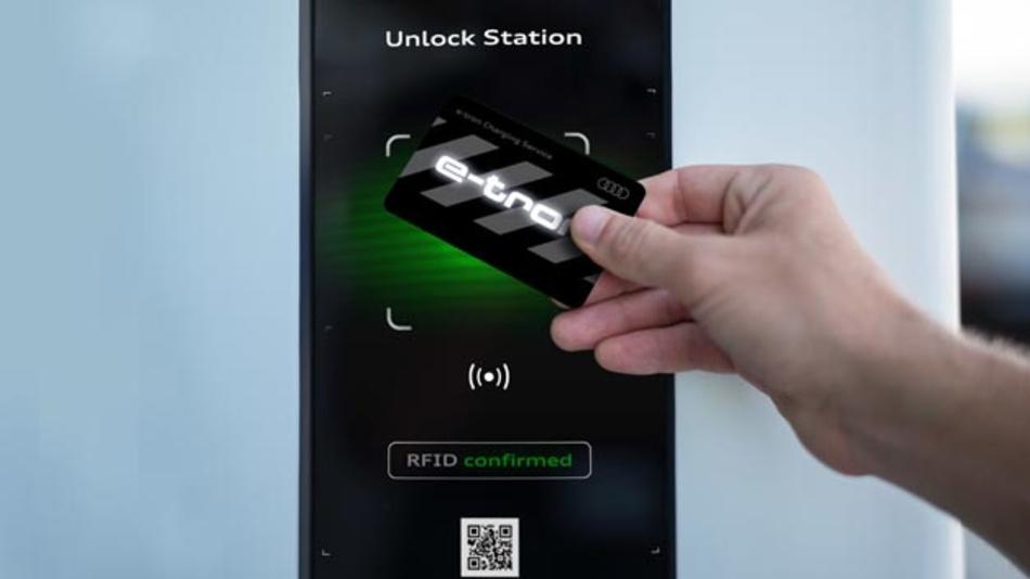Ab sofort geht der Audi e-tron Charging Service ans Netz.