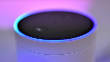 Der Lautsprecher Amazon Echo (Symbolbild)