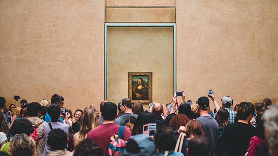 Bild 1. Das mehr als 500 Jahre alte Meisterwerk wird jährlich von über sechs Millionen Menschen aufgesucht – nicht ohne Folgen für das Gemälde.