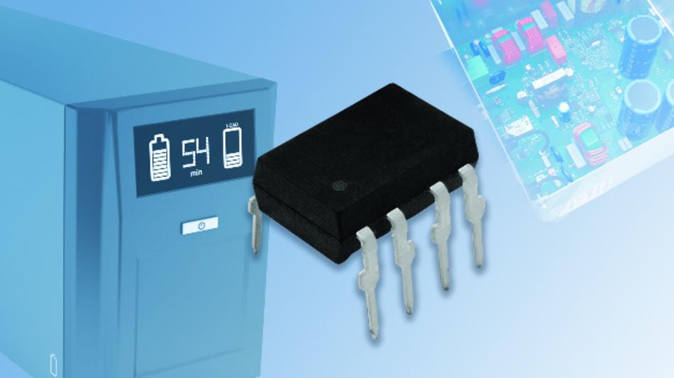 Der Treiber VOD3120A erlaubt hohe Spitzenausgangsströme bis 2,5A.