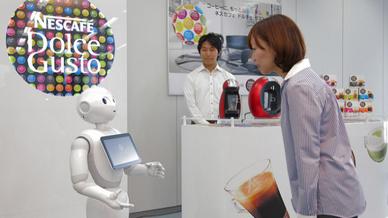 Verkaufsroboter Nestlé Japan
