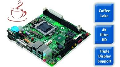 Mini-ITX Board LV-67X von Spectra
