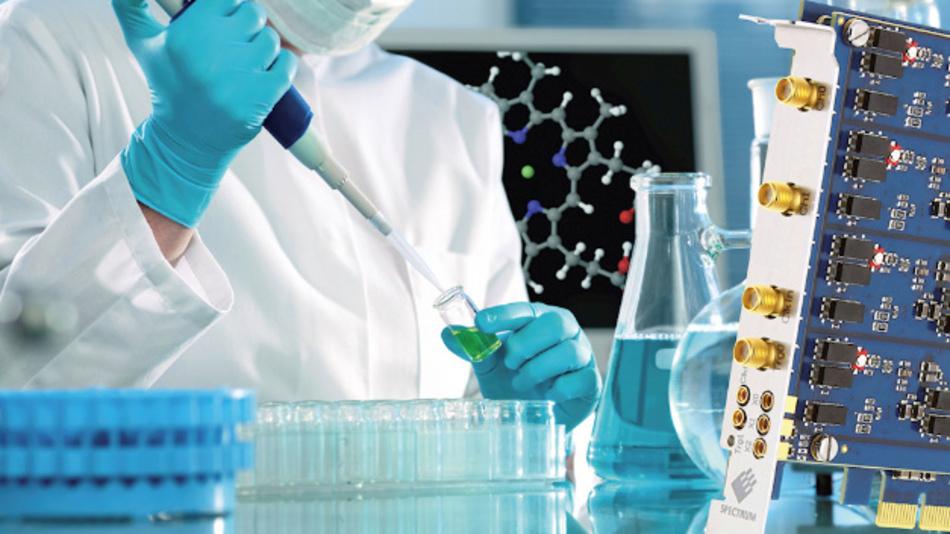 Echtzeitanforderungen hat nicht nur die Industrie, sondern auch die medizinischen Forschung: Für einen Zellsortierer sind Digitizer mit hoher Abtastrate und schneller PCIe-Schnittstelle nötig.