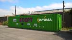 Erste Energiespeicherplattform auf Container-Basis