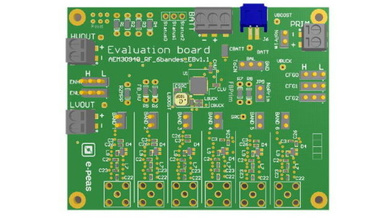 Energy Harvesting Evaluation Board